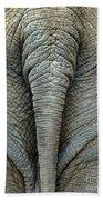 Elephant's Tail Bath Towel
