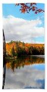 Autumn In Upper Michigan Bath Towel