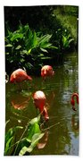 Flamingos Hand Towel