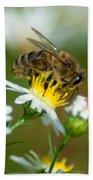 Flowering Bee Bath Towel
