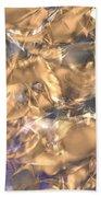 Golden Synapse Bath Towel
