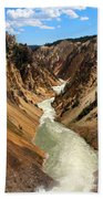 Grand Canyon Of Yellowstone Bath Towel