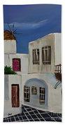 Greek Village Bath Towel