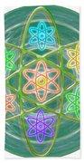 Green Revolution Chakra Mandala Art Yoga Meditation Tools Navinjoshi  Rights Managed Images Graphic  Bath Towel