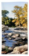 Guadalupe River  Bath Towel