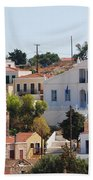 Halki Island Greece Bath Towel
