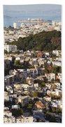 Homes Of San Francisco Hand Towel