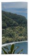 Honomanu - Highway To Heaven - Road To Hana Maui Hawaii Bath Towel
