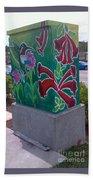 Hummingbird Traffic Signal Box Bath Towel
