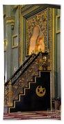 Imam Pulpit Sultan Mosque Singapore Bath Towel