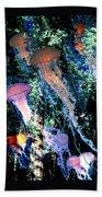 Jellyfish Forest Bath Towel