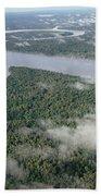 Kikori River In The Rainforest Kikori Bath Towel