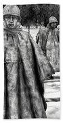 Korean War Memorial Washington Dc Bath Towel
