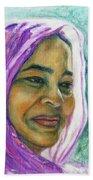 Lady From Bangladesh Bath Towel