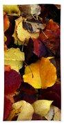 Leaves Of Autumn Bath Towel