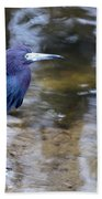 Little Blue Heron Bath Towel