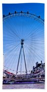 London Eye Bath Towel