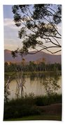 Lower Otay Lake - California Bath Towel