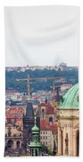 Mala Strana In Prague Bath Towel