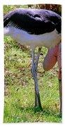 Marabou Stork Bath Towel