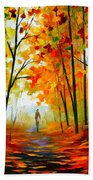 Melody Of Autumn Bath Towel