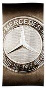 Mercedes-benz 6.3 Amg Gullwing Emblem Hand Towel