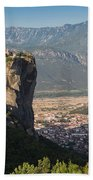 Meteora, Thessaly, Greece. The Eastern Bath Towel