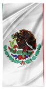Mexican Flag Hand Towel
