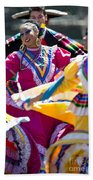 Mexican Folk Dancers Bath Towel