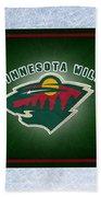 Minnesota Wild Bath Towel