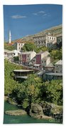 Mostar In Bosnia Herzegovina Bath Towel
