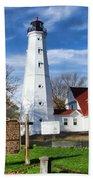 North Point Lighthouse Bath Towel
