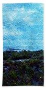 Ocean As A Painting Bath Towel
