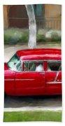 Red Bel Air Bath Towel