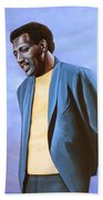 Otis Redding Painting Bath Towel