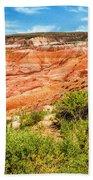 Painted Desert National Park Panorama Hand Towel