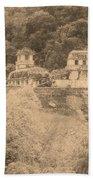 Palenque City Bath Towel