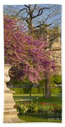 Paris Springtime Bath Towel