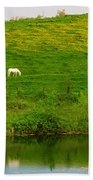 Pasture Bath Towel