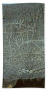 Petroglyph Rock Bath Towel