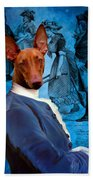 Pharaoh Hound Art Canvas Print Bath Towel