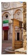 Pienza Tuscany Bath Towel