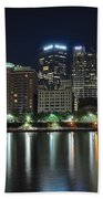 Pittsburgh Panorama Bath Towel