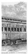 Pullman Car, 1869 Bath Towel