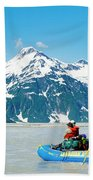 Rafters On The Alsek River Hand Towel