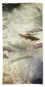 Rainbow Trout Bath Towel
