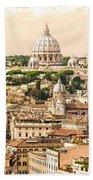 Rome - Italy Bath Towel