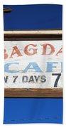 Route 66 - Bagdad Cafe Bath Towel
