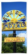 Route 66 - Sunset Motel Bath Towel
