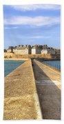 Saint-malo - Brittany Bath Towel